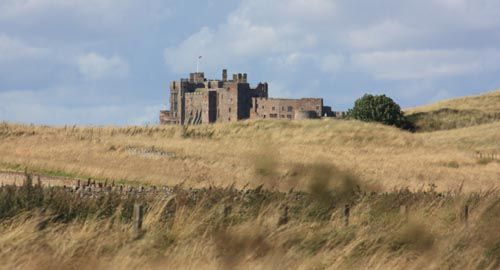 Bamburgh from the south