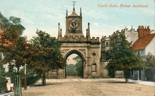 Bishop Auckland Old Postcard