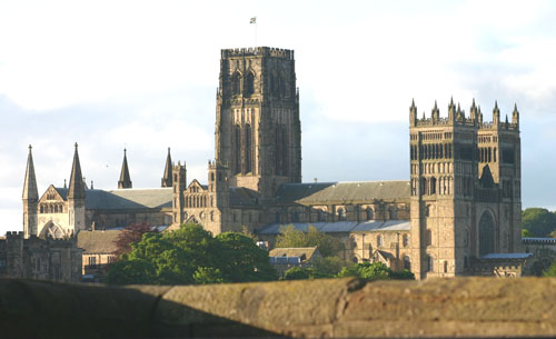 Durham Cathedral from Durham station