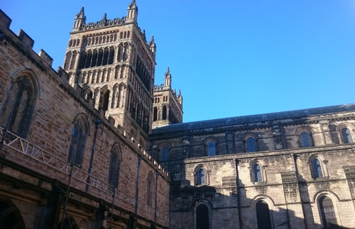 Western Towers Durham Cathedral